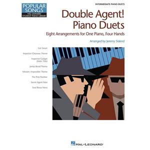 COMPILATION - HAL LEONARD STUDENT PIANO LIBRARY DOUBLE AGENT PIANO DUETS