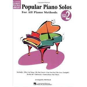 COMPILATION - HAL LEONARD STUDENT PIANO LIBRARY MORE POPULAR PIANO SOLOS GRADE 2 + CD