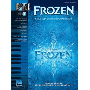LOPEZ KRISTEN / LOPEZ ROBERT - PIANO DUETS PLAY ALONG VOL.44 FROZEN + CD