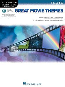 COMPILATION - INSTRUMENTAL PLAY-ALONG: GREAT MOVIE THEMES FLUTE + AUDIO ACCES ONLINE