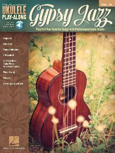 COMPILATION - UKULELE PLAY-ALONG VOLUME 39 GYPSY JAZZ + ONLINE AUDIO ACCESS