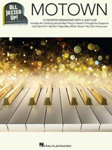 COMPILATION - ALL JAZZED UP MOTOWN PIANO SOLOS INTERMEDIATE 12 HITS
