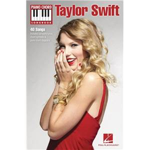 SWIFT TAYLOR - PIANO CHORD SONGBOOK