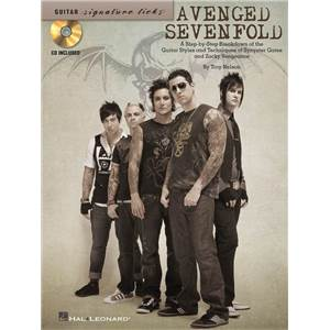 AVENGED SEVENFOLD - GUITAR SIGNATURE LICKS + CD