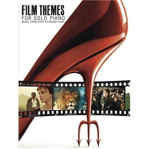 COMPILATION - FILM THEMES FOR SOLO PIANO MUSIC FROM OVER 50 MAJOR FILMS