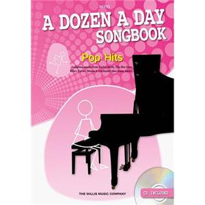 BURNAM EDNA MAE - A DOZEN A DAY MINI VOL.SONGBOOK EASY POP + CD