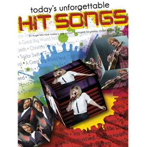 COMPILATION - TODAY'S UNFORGETTABLE HIT SONGS P/V/G