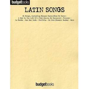 COMPILATION - LATIN SONGS 81 SONGS P/V/G