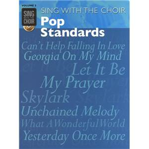 COMPILATION - SING WITH THE CHOIR VOL.03 POP STANDARDS + CD