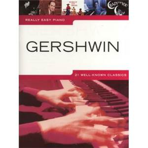 COMPILATION - REALLY EASY PIANO GERSHWIN