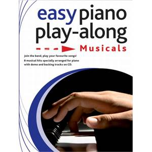 COMPILATION - EASY PIANO PLAY ALONG MUSICALS (CATS, MAMMA MIA, HIGH SCHOOL MUSICAL...) + CD