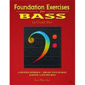 SHER CHUCK - FOUNDATION EXERCISES FOR BASS