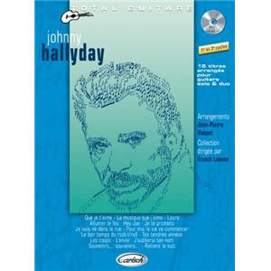 HALLYDAY JOHNNY - COLLECTION TOTAL GUITARE + CD