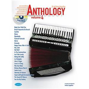 COMPILATION - ACCORDEON ANTHOLOGY 24 ALL TIME FAVORITES VOL.4 + CD