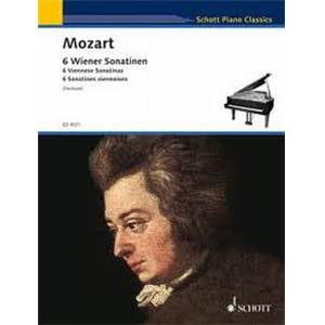 MOZART W.A. - SONATINES VIENNOISES (6) PIANO