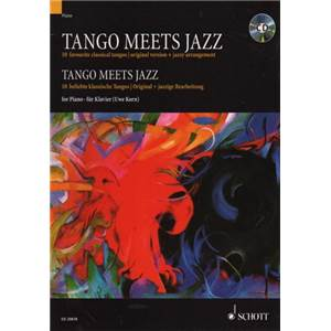 KORN UWE - TANGO MEETS JAZZ + CD PIANO