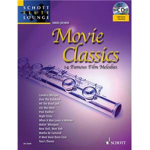 COMPILATION - MOVIE CLASSICS + CD FLUTE/PIANO