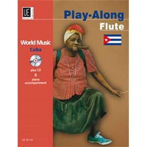 COMPILATION - WORLD MUSIC CUBA FLUTE/PIANO + CD