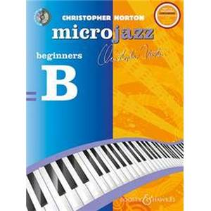 NORTON CHRISTOPHER - MICROJAZZ FOR BEGINNERS + CD PIANO