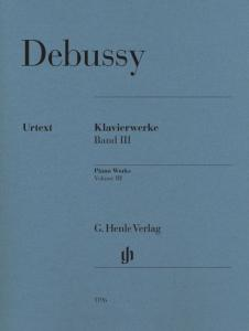 DEBUSSY CLAUDE - OEUVRES POUR PIANO VOLUME 3 - PIANO