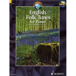ENGLISH FOLK TUNES + CD (32 TRADITIONNELS ANGLAIS) - PIANO