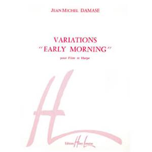 JEAN-MICHEL DAMASE - VARIATIONS EARLY MORNING - FLUTE ET HARPE