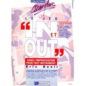 BOELL ERIC - LE JEU IN ET OUT METHODE D'IMPRO TOUS INSTRUMENTS