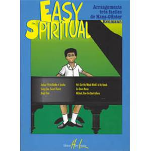 HEUMANN HANS GUNTER - EASY SPIRITUAL PIECES FACILES POUR PIANO