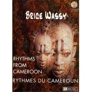 WASSY BRICE - RYTHMES DU CAMEROUN METHODE BATTERIE + CD