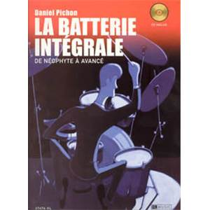 PICHON DANIEL - BATTERIE INTEGRALE + CD
