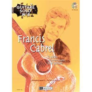 CABREL FRANCIS - GUITARE SOLO VOL.8 : + CD