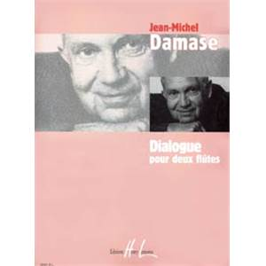 DAMASE JEAN-MICHEL - DIALOGUE - 2 FLUTES