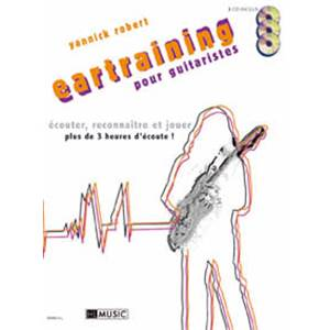 ROBERT YANNICK - EARTRAINING + 3CD - GUITARE