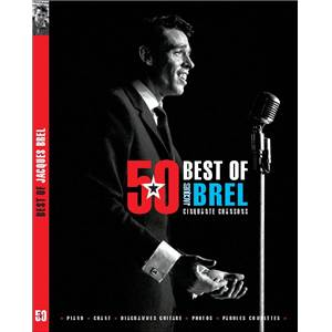 BREL JACQUES - BEST OF 50 TITRES P/V/G