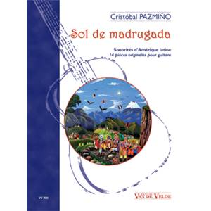 CRISTOBAL PAZMINO - SOL DE MADRUGADA - 14 PIECES ORIGINALES - GUITARE