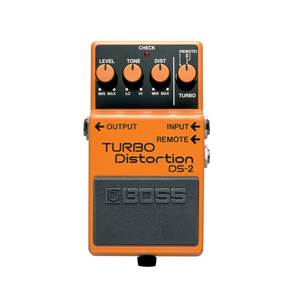 PEDALE D'EFFETS BOSS DS 2 TURBO DISTORTION