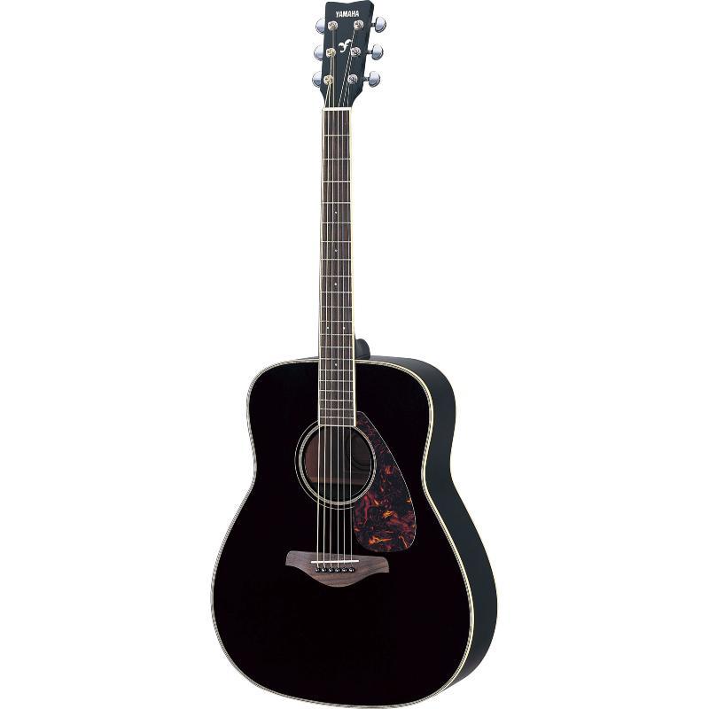 guitare folk acoustique yamaha fg 720s bl noir paul. Black Bedroom Furniture Sets. Home Design Ideas
