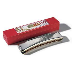 HARMONICA DIATONIQUE CINTRE HOHNER ECHO 1495/40