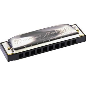 HARMONICA BLUES HOHNER SPECIAL 20 560/20 B EN SI