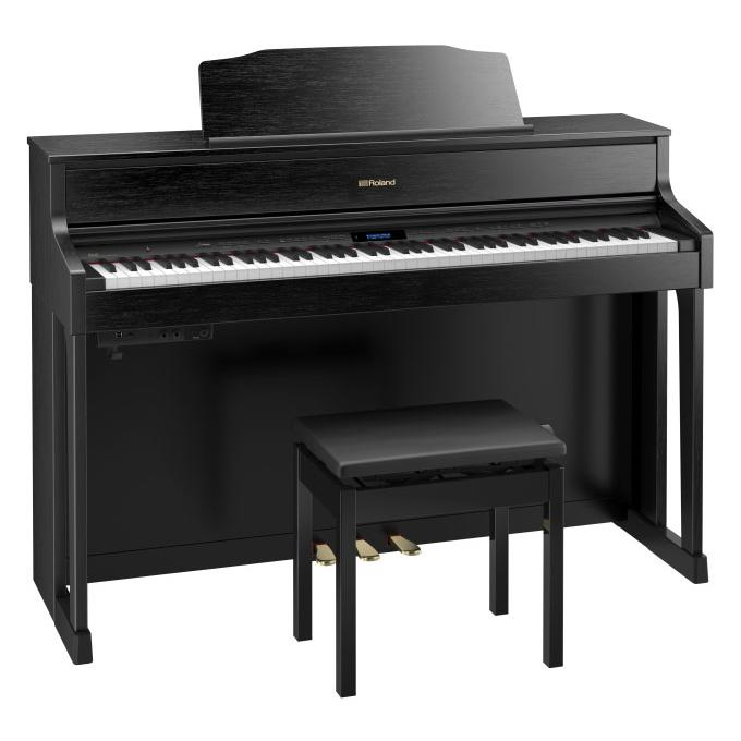 piano numerique meuble roland hp605 cb paul. Black Bedroom Furniture Sets. Home Design Ideas