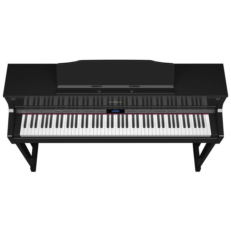 piano numerique meuble roland hp605 pe paul. Black Bedroom Furniture Sets. Home Design Ideas