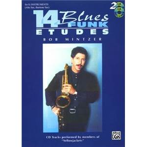 MINTZER BOB - 14 BLUES ET FUNK EB VOL.2 + CD