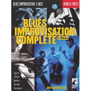 HARRINGTON JEFF - BERKLEE BLUES IMPRO COMPLETE C VERSION + CD