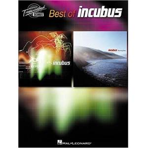 INCUBUS - BEST OF TRANSCRIBED SCORE