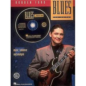 FORD ROBBEN - BLUES GUITAR TAB. + CD