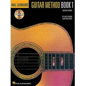 SCHMID / KOCH - HAL LEONARD GUITAR METHOD VOL.1 + CD