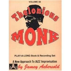 MONK THELONIOUS - AEBERSOLD 056 + CD