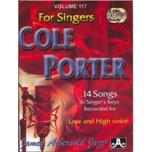 PORTER COLE - AEBERSOLD 117 FOR SINGERS + 2CD