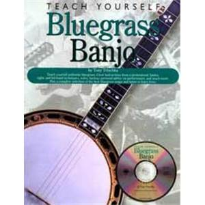 TRISCHKA TONY - TEACH YOURSELF BLUEGRASS BANJO + CD