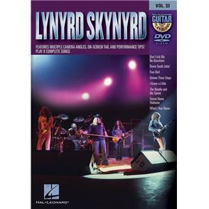COMPILATION - GUITAR PLAY ALONG DVD VOL.33 LYNYRD SKYNYRD